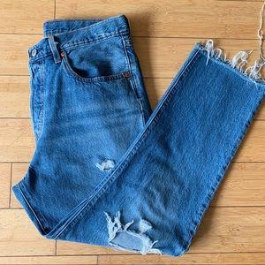 Levi's high waist /Straight leg Jeans